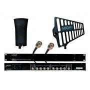 Sistema de distribuição RF para microfone UHF de 470 ~ 952 MHz | MGA Pro Audio | US-4 5050 A-1 A-2