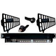 Sistema de distribuição RF para microfone UHF de 470 ~ 952 MHz | MGA Pro Audio | US-5 2100 A-1