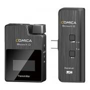 Sistema Microfone sem fio Smartphone USB-C Comica BoomX-DUC1