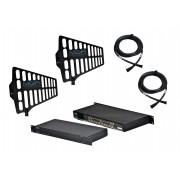 Sistema RF Distribuidor, Antenas e Cabos MGA Pro Audio US4 A1 RF2050