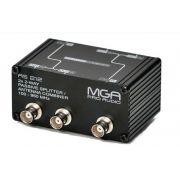 Splitter Passivo para 2 microfones ou distribuidores e um par de antenas | MGA Pro Audio | AS 212