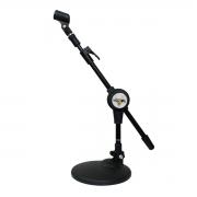 Suporte de mesa para Microfone + Cachimbo Vector SM30P