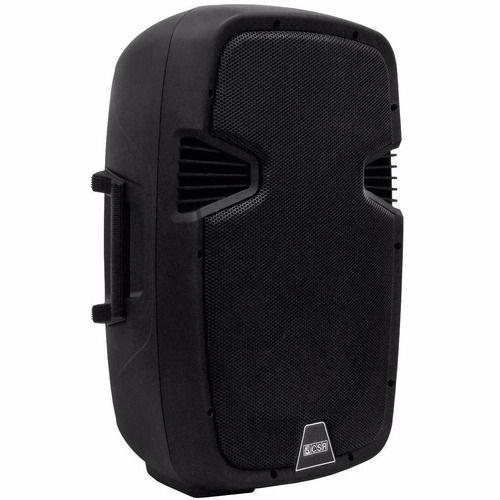 Par Caixa 10 polegadas Ativa Passiva 100w USB Bluetooth CSR 5510