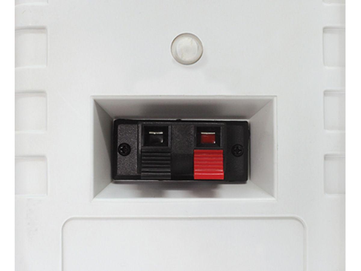 1 Par de Caixa para som ambiente 3 vias com suporte | 50 Watts RMS em 8 ohms | Novik Neo | NVK 25