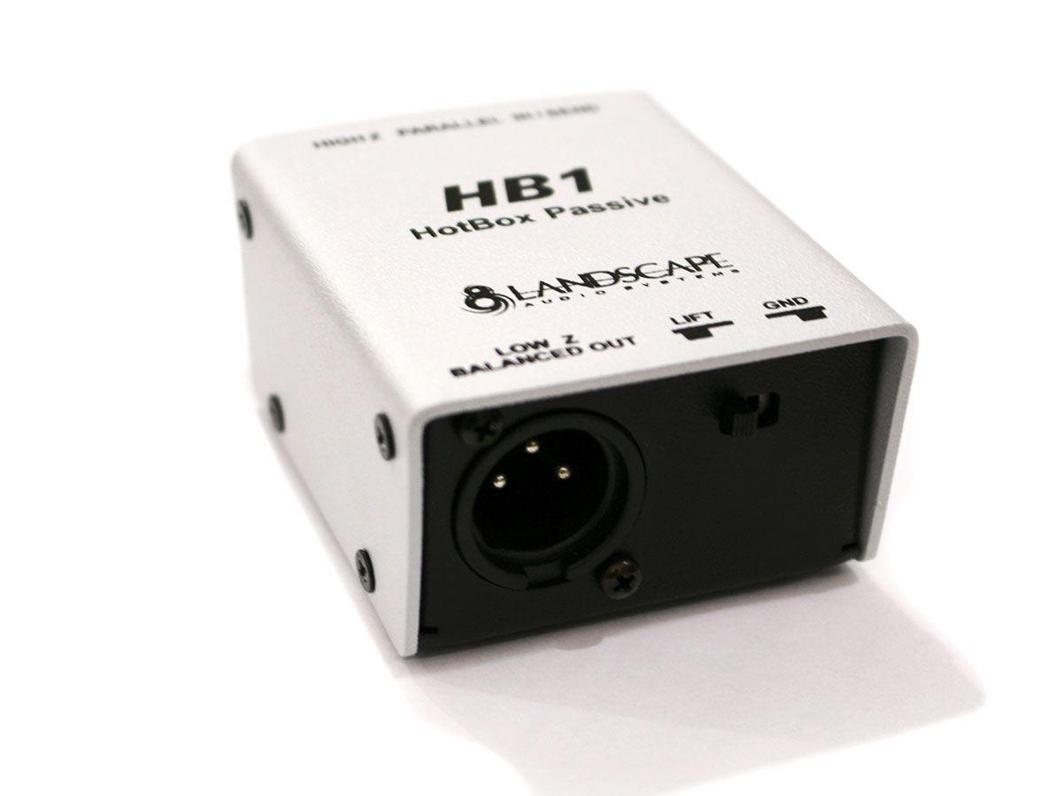 2 Direct Box Passivo Compacto de 1 canal Landscape HB1
