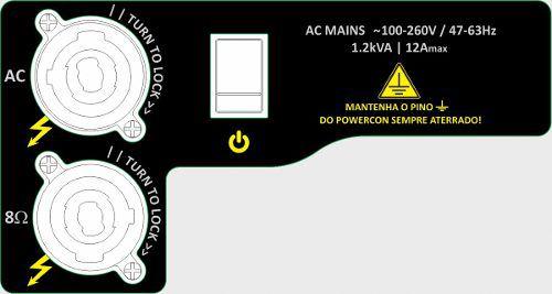 Amplificador digital para gabinete SUB com 2500W @ 4Ω e 1800W @ 8Ω | Next Pro | M2.5 SUB