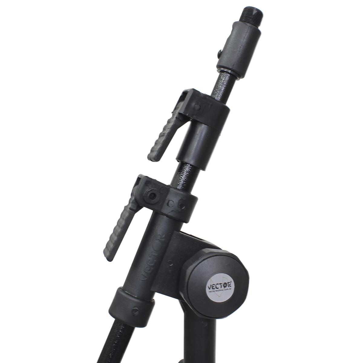 2 Mini Pedestais Girafa para Microfone Vector PMV01PJR