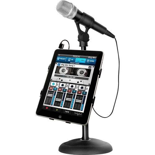 Microfone de mão para Smartphone, celular ou tablet com saída para fone | IK Multimedia | iRig Mic