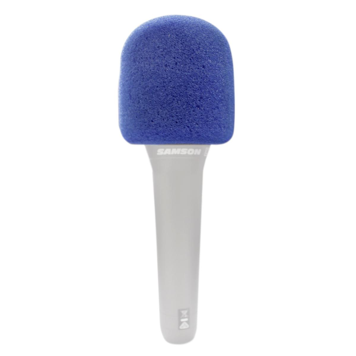 4 Espumas Azul para microfone de mão CSR GM515