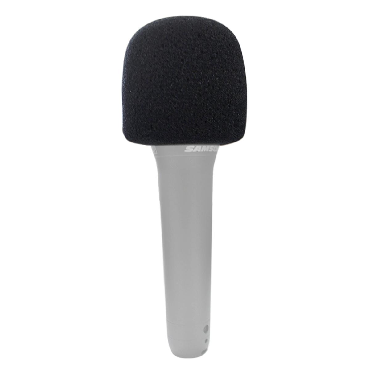 4 Espumas preta para microfone de mão CSR GM515