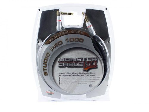 Cabo Instrumento P10 L P10 6,40m Sp1000-i-21a Monster Cable
