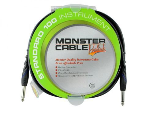 Cabo instrumento P10 - 3,65m Monster Cable S100-I-12