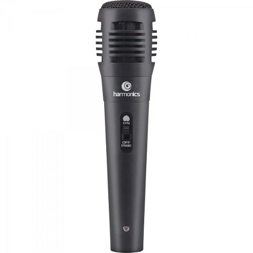 Microfone Dinâmico Super-cardioide Com Fio Harmonic Mdc101