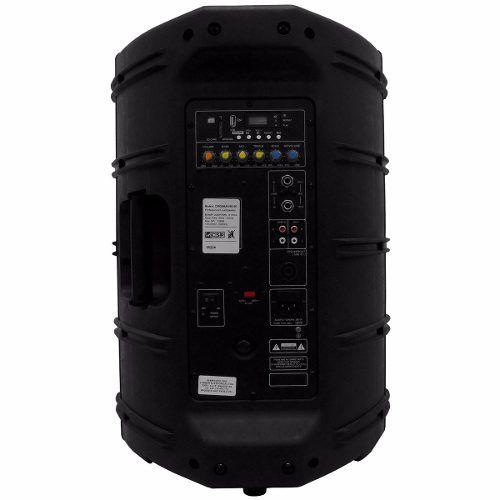 Caixa Ativa 12 Pol 200W USB + Adaptador Bluetooth CSR 3000AUSB