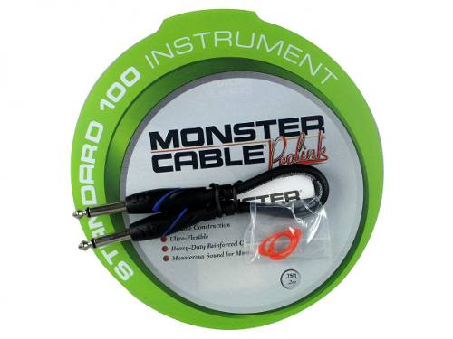 Cabo para Pedal P10 mono 20cm Monster Cable S100-I-75
