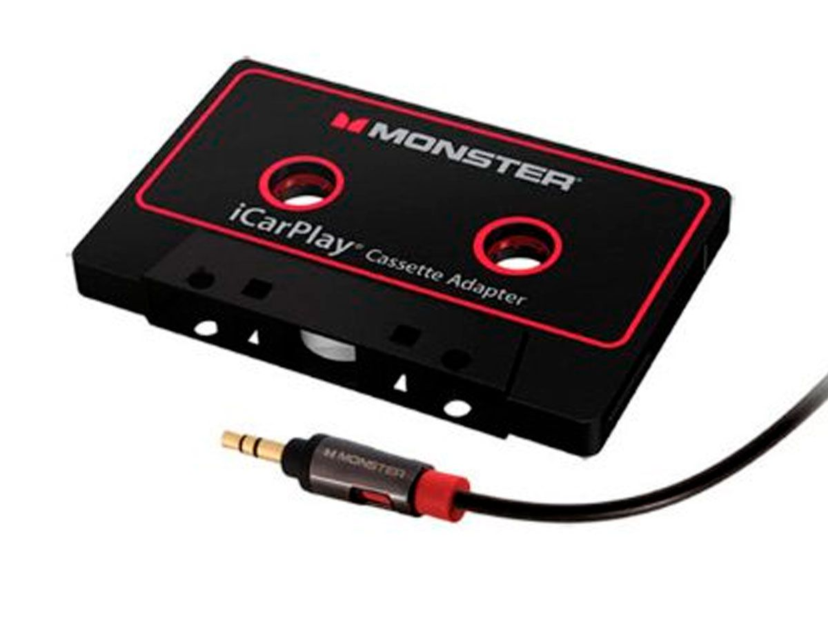 Adaptador Fita k7 - P2 Estéreo Monster Cable iCarPlay i800