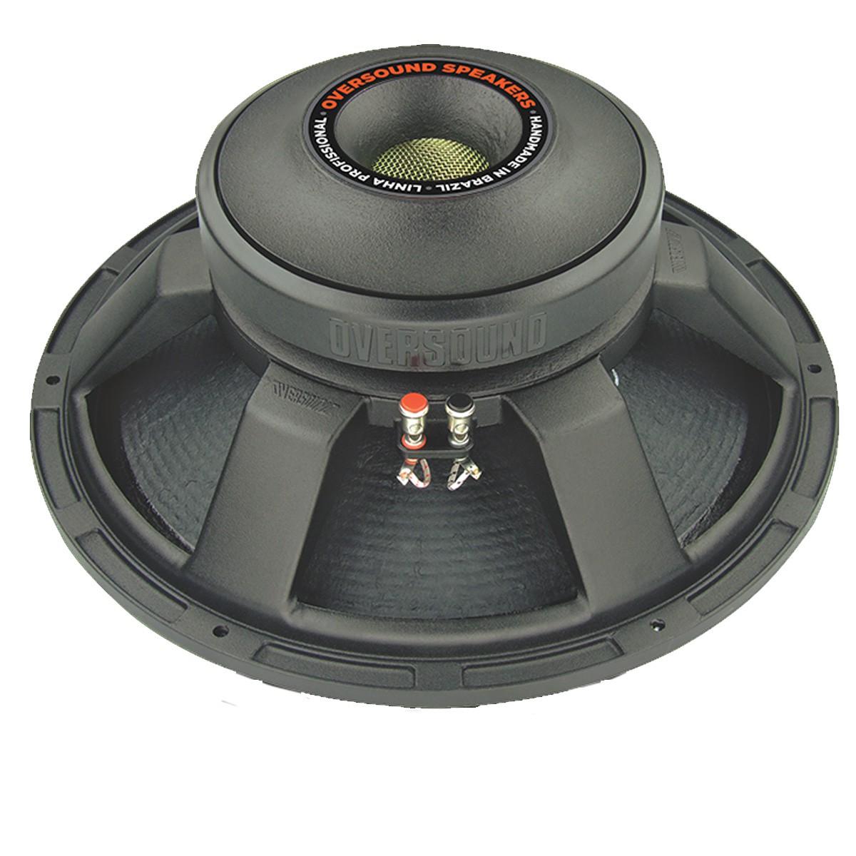 Alto-falante 15 polegadas 600W 8 ohms Oversound SUB15C