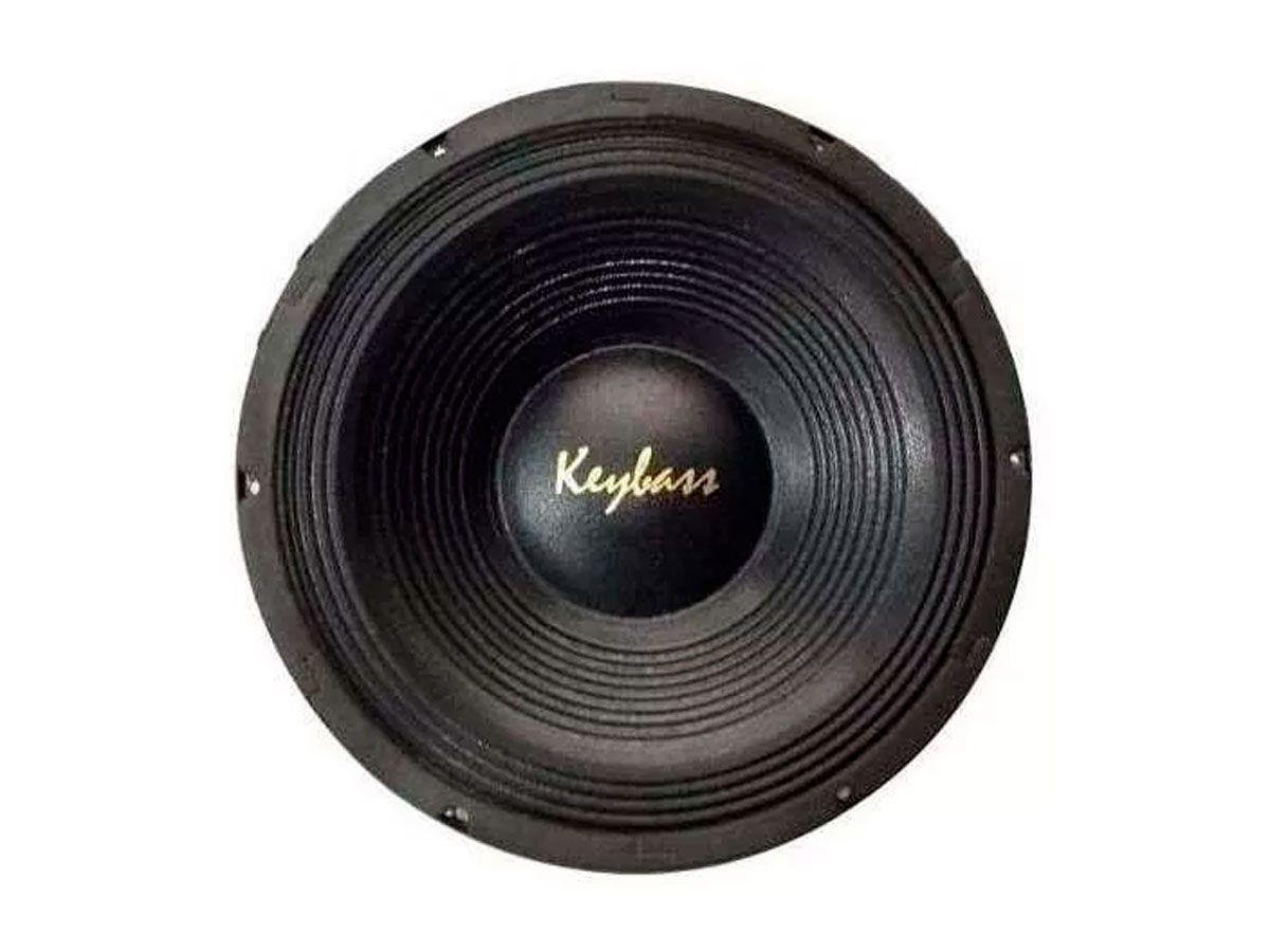 Alto Falante de 12 polegadas com 250 Watts RMS em 8ohm   Keybass   K12 169CB