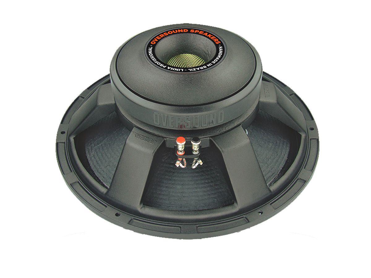 Alto Falante de 15 polegadas   400W RMS em 8 ohms e bobina 4 polegadas Kapton®   Oversound   15G-400