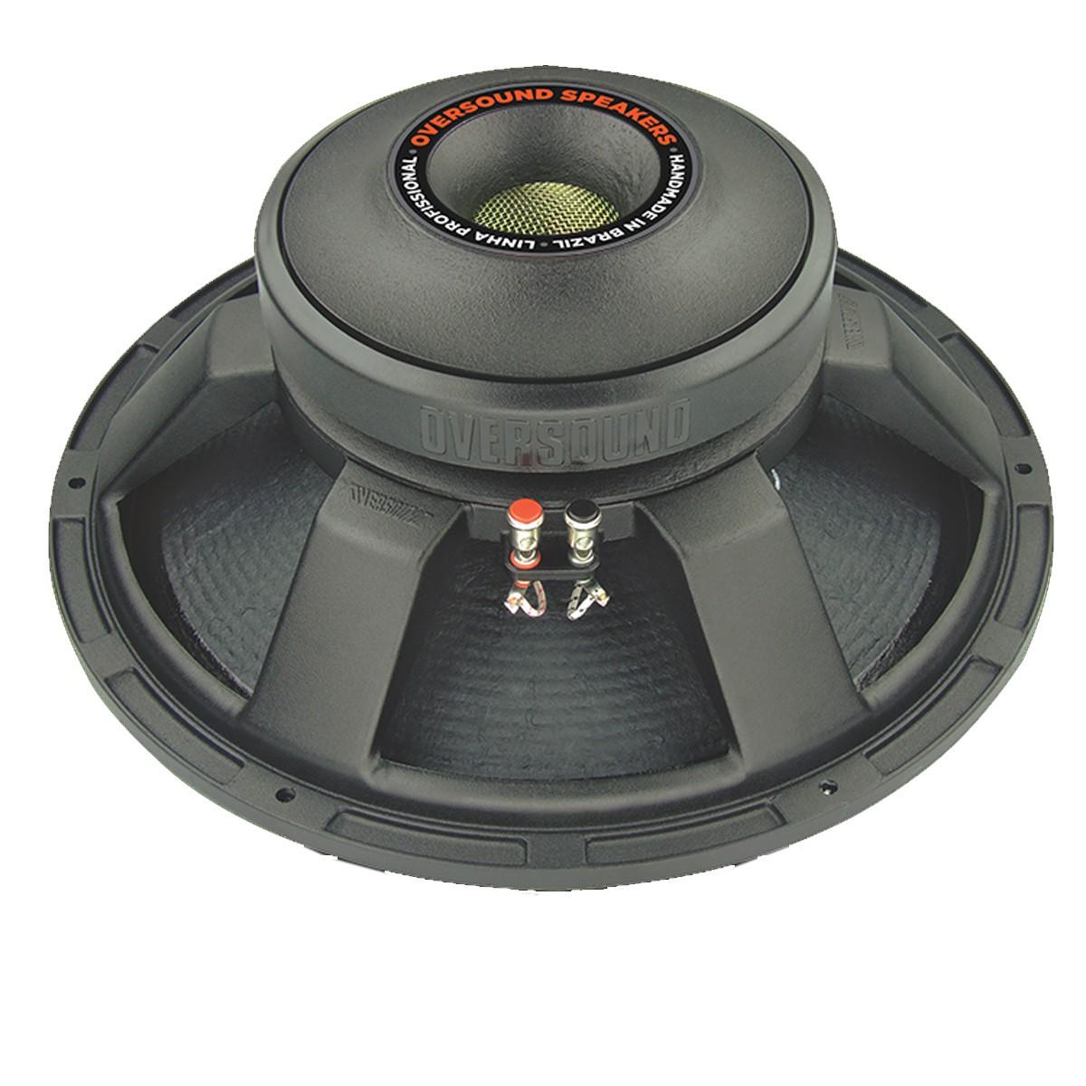 Alto-falante 15 polegadas 400W 8 ohms Oversound 15G400