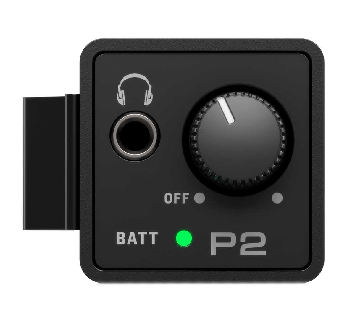Amplificador de fone ultra-compacto com 1 entrada XLR / P10 e até 12 horas com 2 pilhas AAA | Behringer | P2