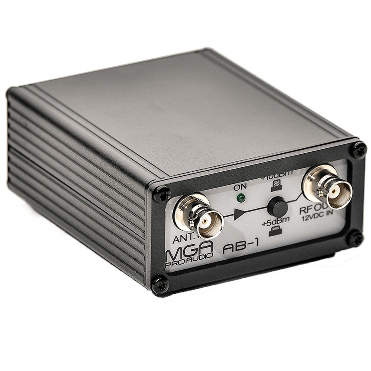 Amplificador de sinal para microfone sem fio MGA AB1