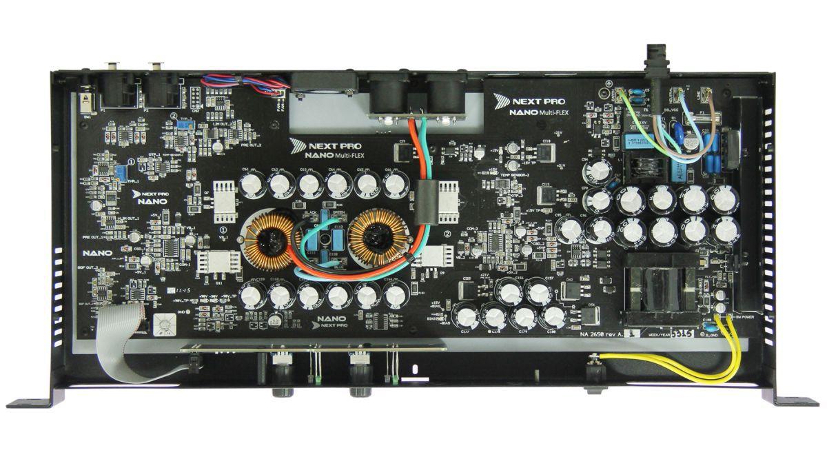Amplificador digital com 2 canais de 650W Next Pro NA2650