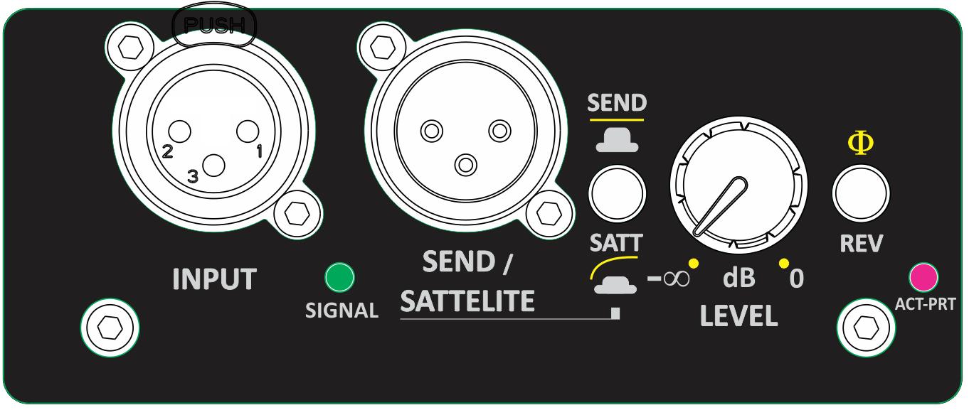 Amplificador de embutir para SUB 700W Next Pro M700SUB