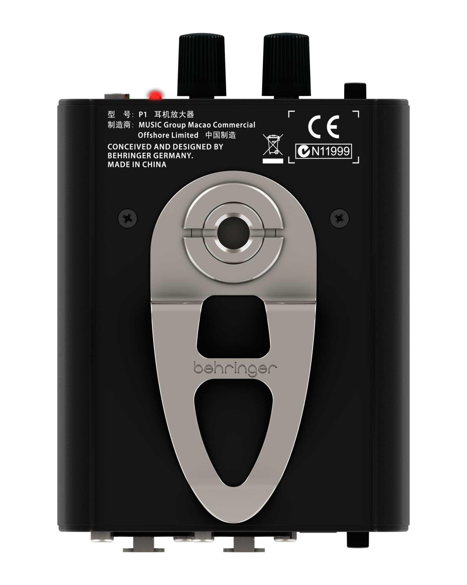Amplificador fone 2 entras Estéreo / Mono Behringer P1