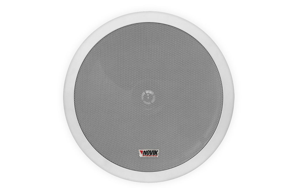 Arandela para instalação de som ambiente   8 Watts RMS em 8 ohms   Novik Neo   NWS 6120