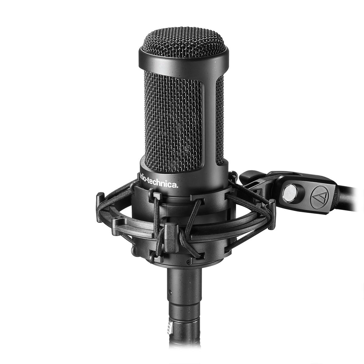 Microfone de Capsula Mutável Audio-Technica AT2050