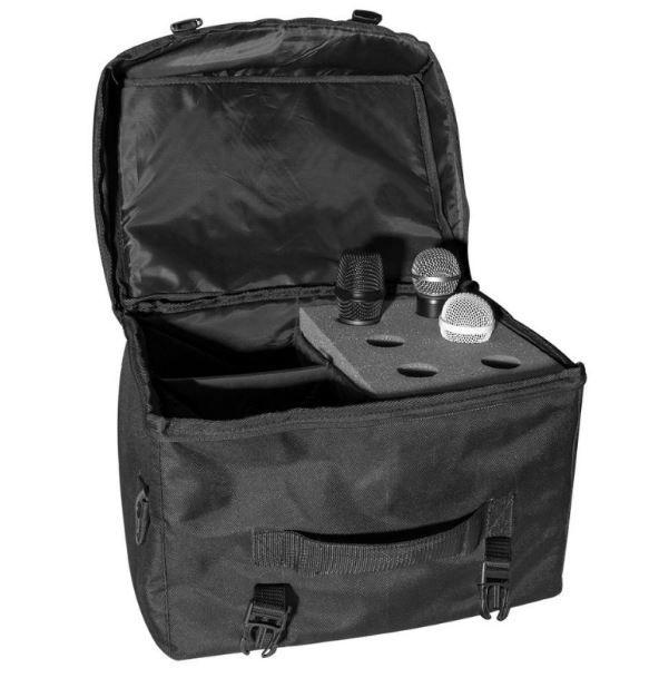 Bag modular p/ 6 microfone + acessórios On-Stage MB7006