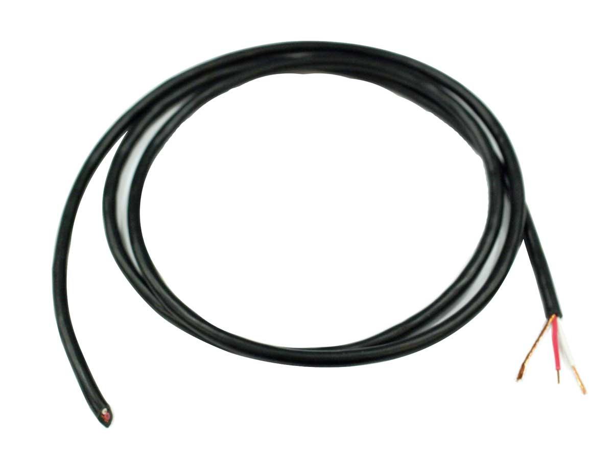 Cabo micro estéreo 2x0,20mm flexível Tecniforte MS2020