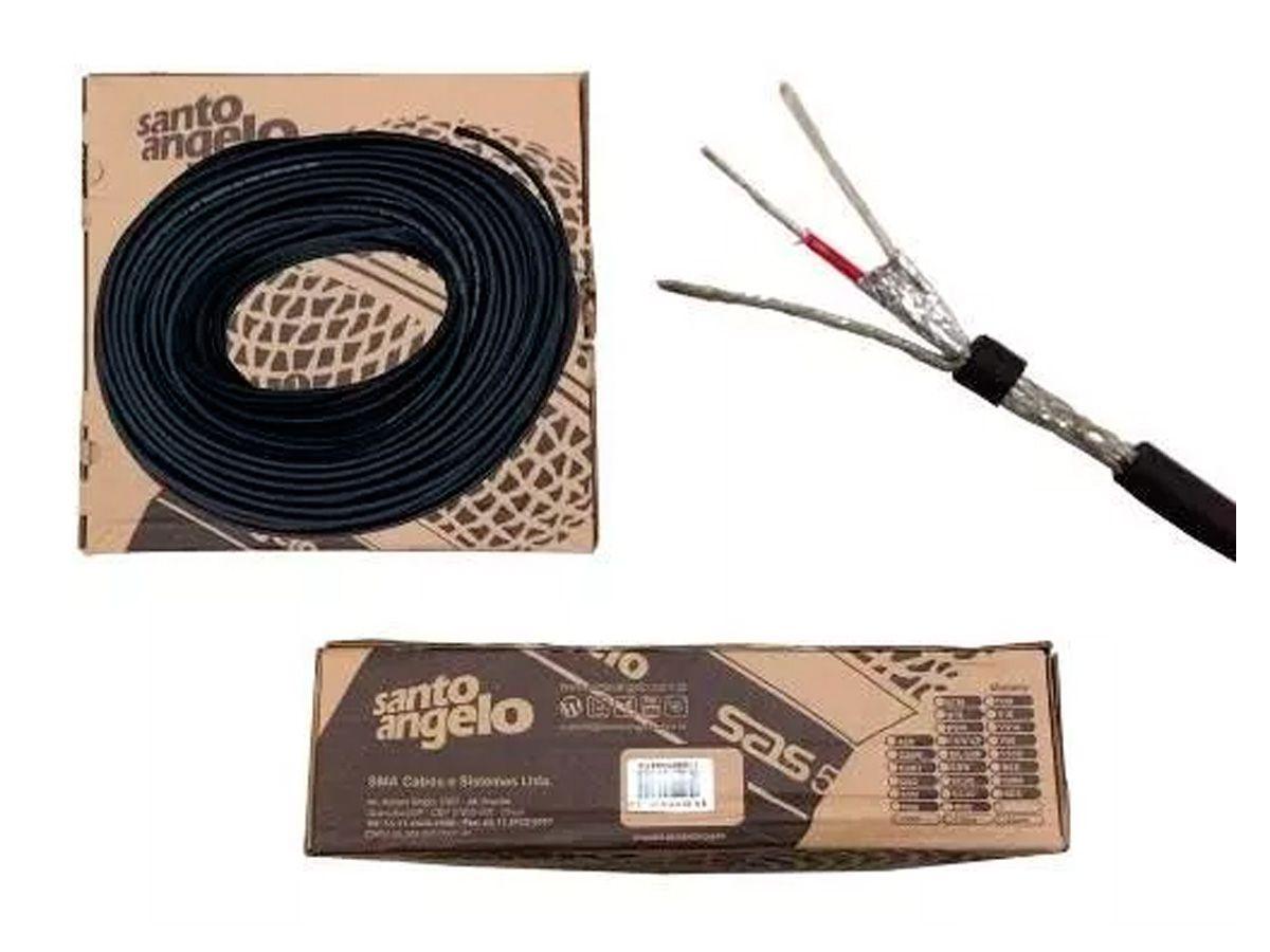 Cabo para microfone balanceado de 2x0,30mm | Rolo 100 Metros | Santo Angelo | SC30