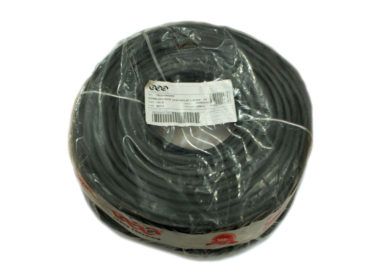 NOISELESS MICR. 2X22 AWG BT 6,00 MM PR - IFE30 - IFE