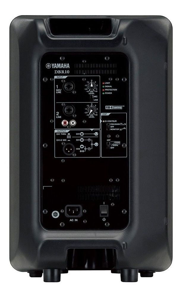 "Caixa Acustica Ativa 10"" 325W DBR-10 Yamaha"