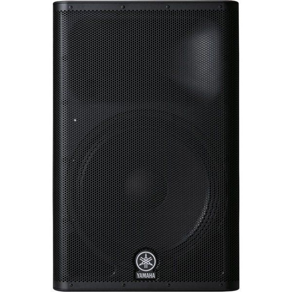 """Caixa Acústica Ativa 15"""" 1100W DXR-15 Preta YAMAHA"""