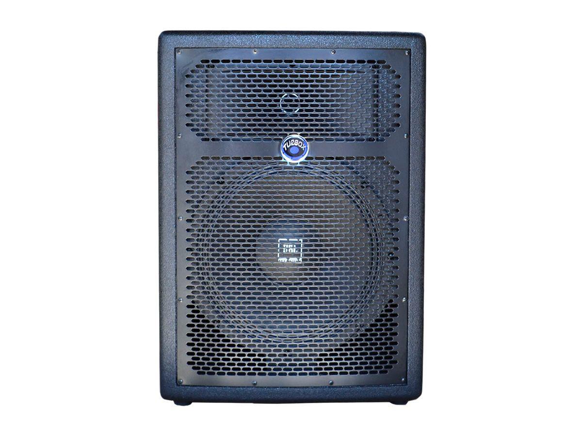 Caixa Acústica Ativa com alto-falante de 15 Polegadas e 250W RMS | Leitor USB, Bluetooth e FM | Turbox | TBA1500A