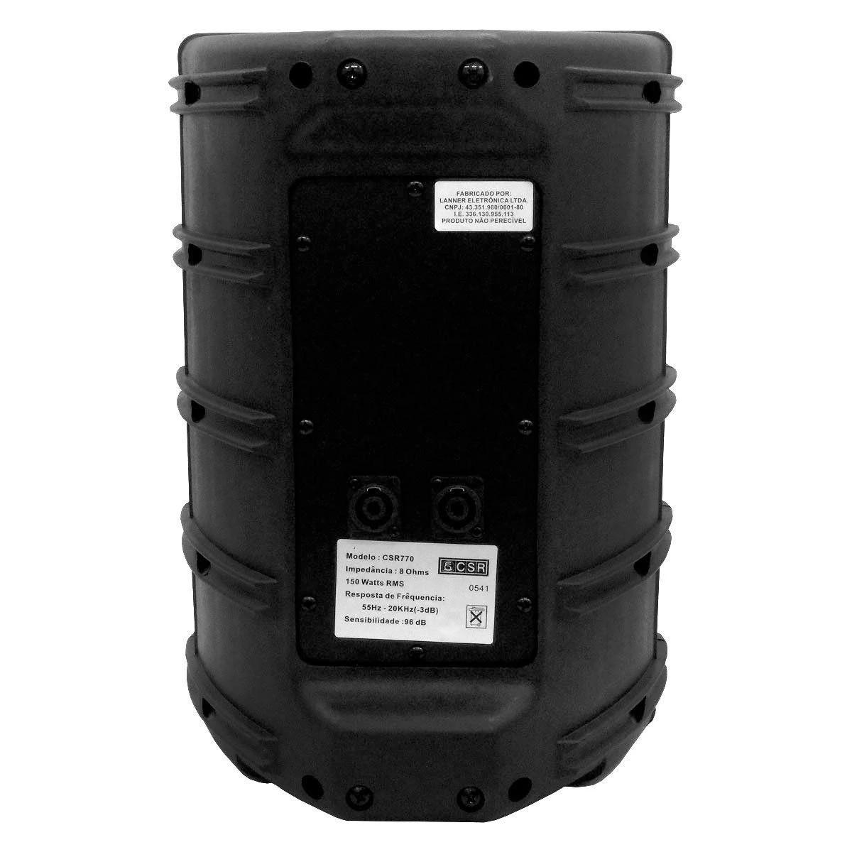 Caixa Acústica Passiva 8 Polegadas 150w Rms CSR 770