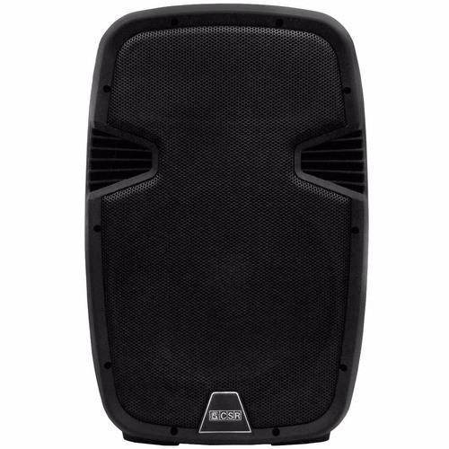 Caixa Ativa 100W RMS, USB e Bluetooth CSR 5510AUSB