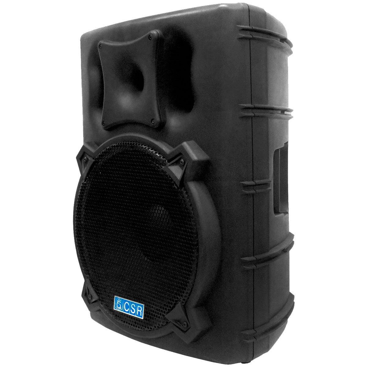 Caixa Ativa 15 Pol 300W RMS Bluetooth USB CSR 4000AUSB