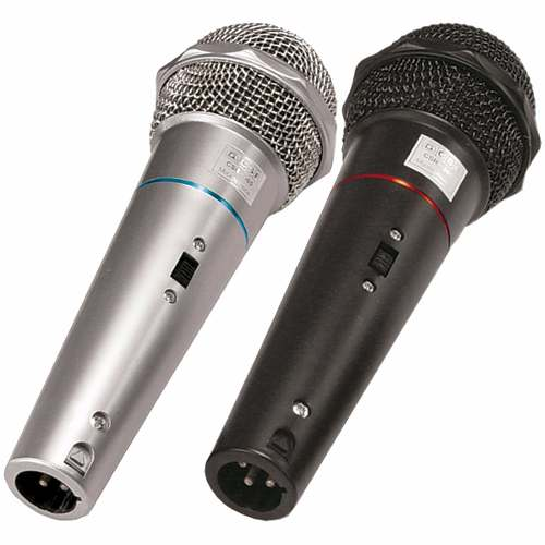 Caixa Ativa CSR770A USB + 2 Microfones com fio CSR505