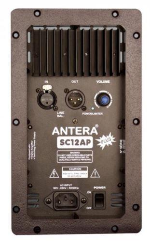 Caixa ativa de 2 vias com 200W RMS e alto falante de 12 polegadas | Antera | SC12A