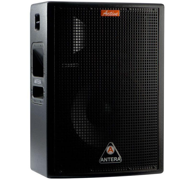 Caixa ativa de 2 vias com 220W RMS e alto falante de 10 polegadas   Antera   TS400AX