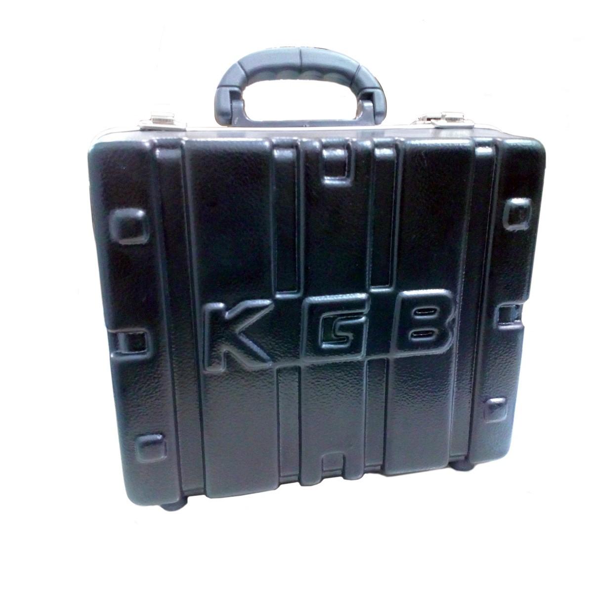 CASE P/ 5 MICROFONES CONSTRUÇÃO EM POLIETILENO KGB 5MKGB