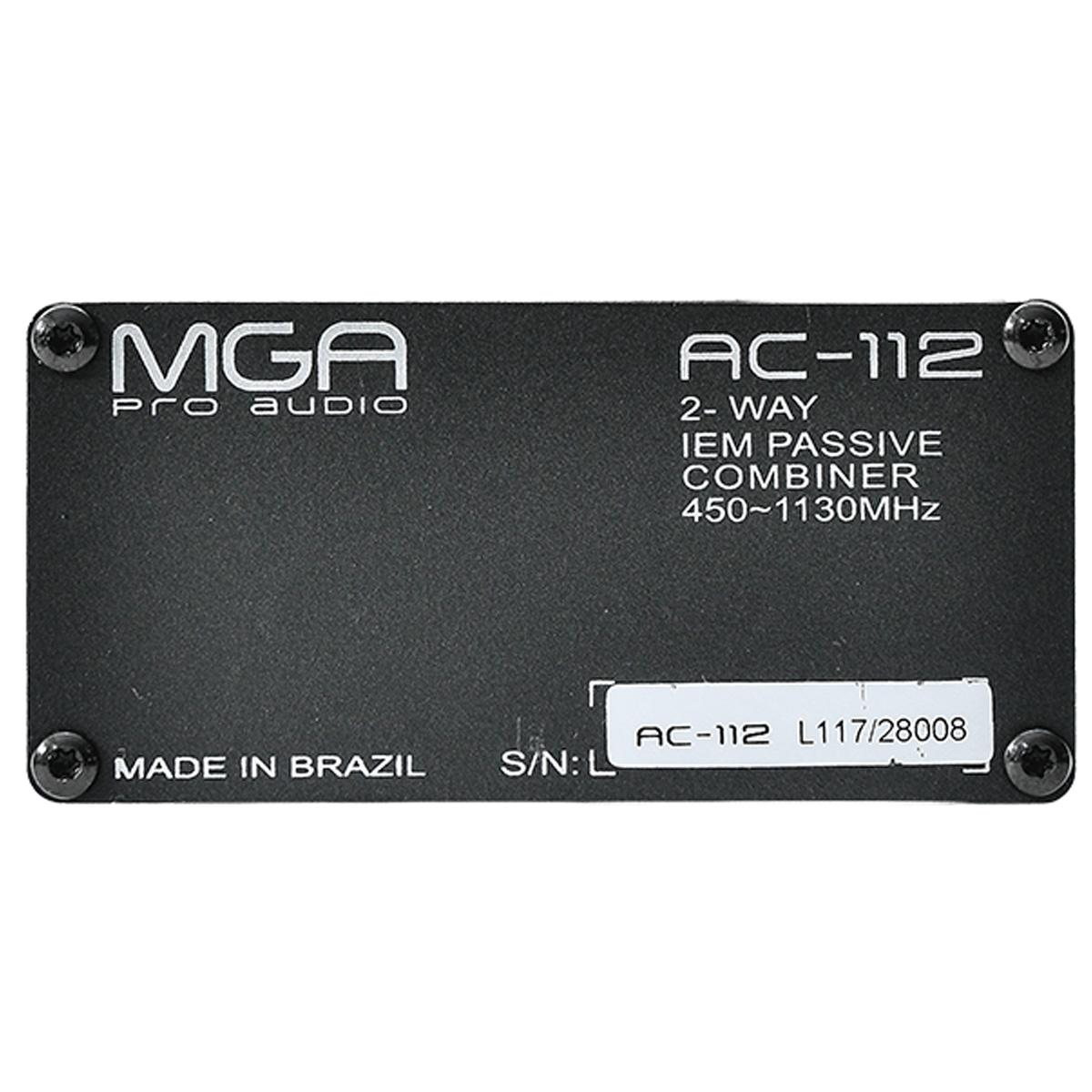 Combiner para 2 sinais de RF com até 5 watts MGA AC112