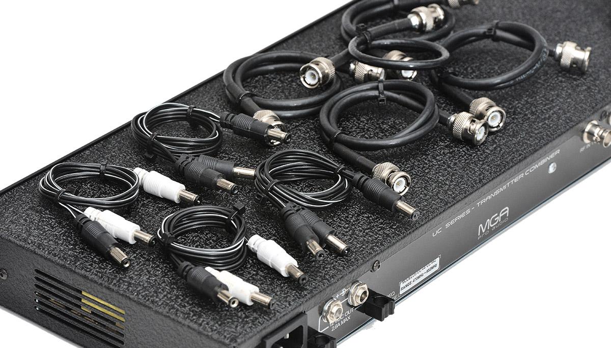 Combiner para 4 transmissores e 1 Antena IEM MGA UC442