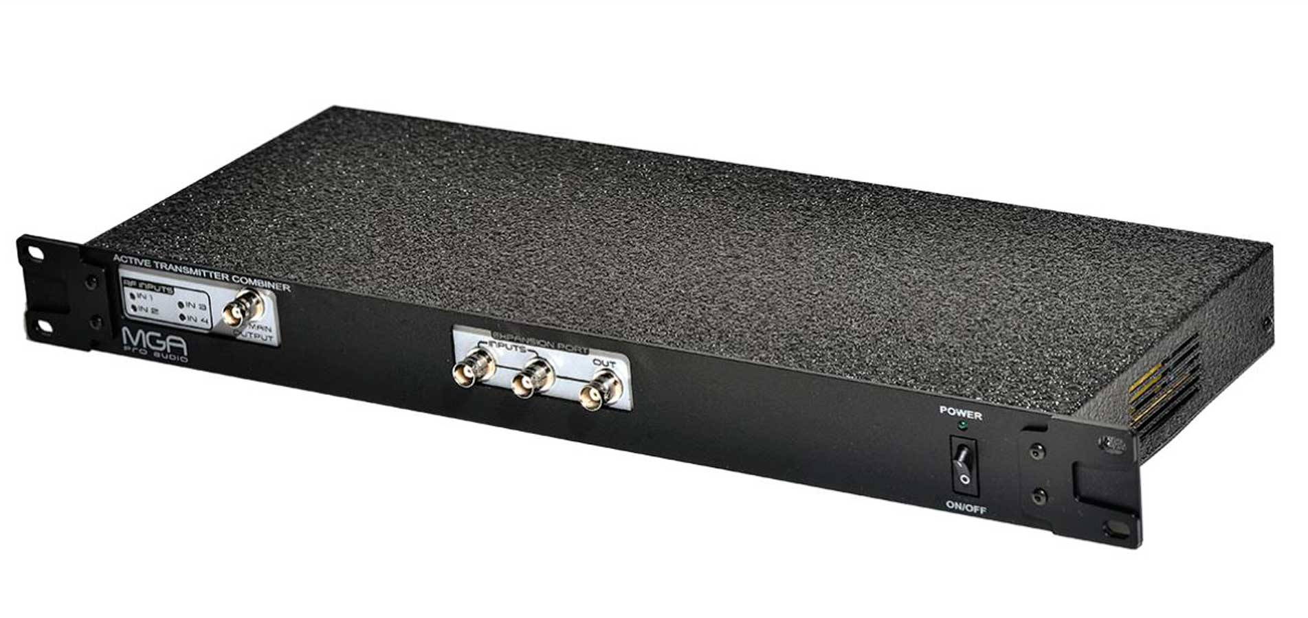 Combiner para 4 transmissores IEM e 1 antena sem perda | 470 ~ 870 MHz | MGA Pro Audio | UC-442