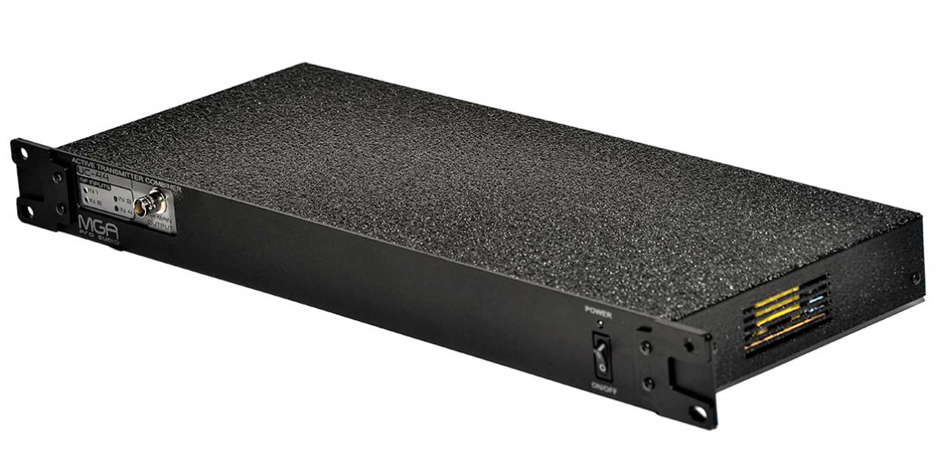 Combiner para 4 transmissores IEM em uma única antena sem perda de sinal | MGA Pro Áudio | UC-44