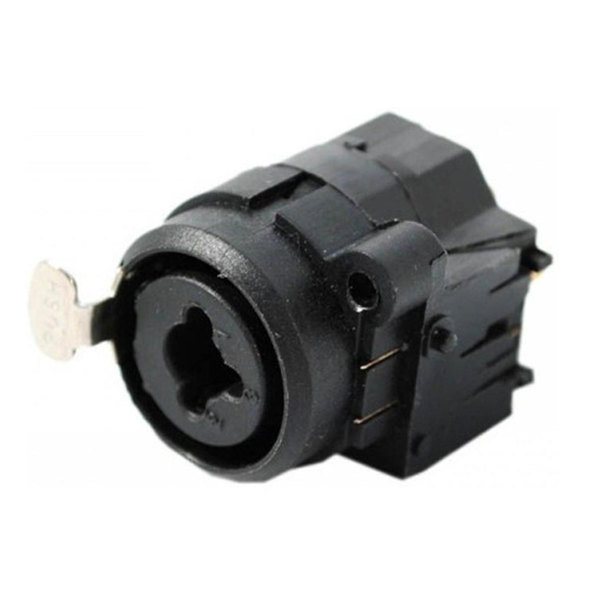 Conector Combo de Painel, P10 Estéreo + XLR CSR - CSR2X